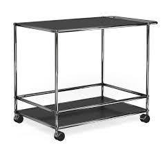 usm haller serving cart for dining room drinks trolley by usm