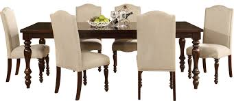 darby home co foster 7 piece dining set u0026 reviews wayfair