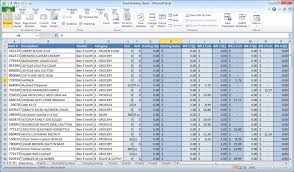 Vendor Management Excel Template Microsoft Excel Is Not Inventory Software Crunchtime