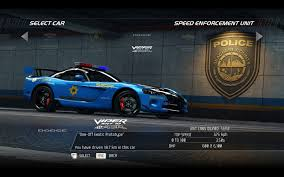 Dodge Viper Top Speed - video games cars police dodge viper need for speed pursuit acr
