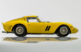 ferrari classic models ferrari 250 gto 1962 yellow by cmc model cars racing heroes