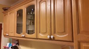 chalk painting kitchen cupboards before and after american paint