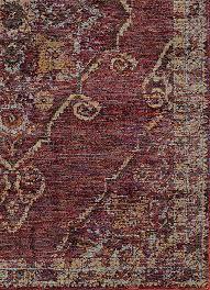 maroon purple worn traditional vintage style rug woodwaves