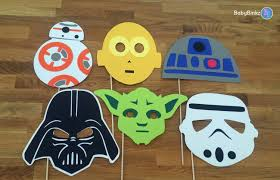 photo props star wars set 6 pieces party wedding birthday