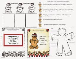 classroom freebies gingerbread descriptive writing worksheets