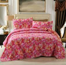 Hawaiian Bedding Printed U0026 Mizone Floral Coverlet Sets U2013 Ease Bedding With Style