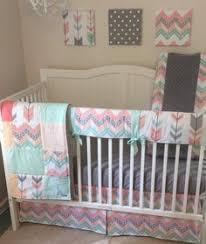 navy gold mint and cream baby boy tribal crib set www etsy com