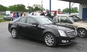 cadillac cts 08 2008 cadillac cts spotted out in the open autospies
