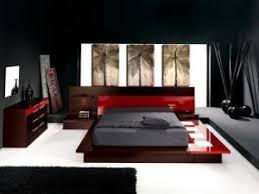 chambre a coucher noir et gris conceptions chambres à coucher et noir par deco