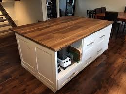 custom designed kitchen island countertop general finishes