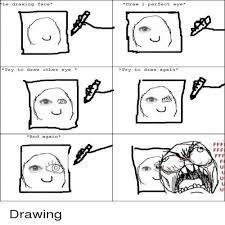 drawing meme faces memeshappy