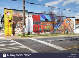 big wall mural noda district charlotte north carolina usa big wall mural noda district charlotte north carolina usa