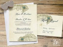peacock wedding invitations wedding invitation templates
