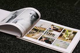 coffee table photo album wedding photography album page