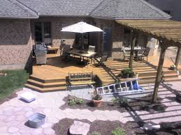 Backyard Deck And Patio Ideas by Deck And Patio Ideas For Aspiration Daily Knight