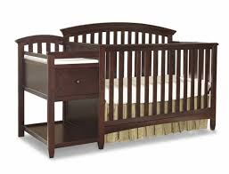 Graco Crib With Changing Table Nursery Decors U0026 Furnitures Convertible Cribs With Changing