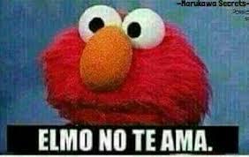 Elmo Meme - elmo no te ama v imagenes para comentar en facebook memes