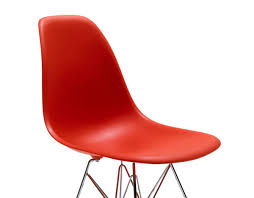 eames molded plastic side chair with wire base hivemodern com