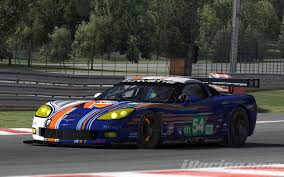 gulf racing gulf racing art corvette gt1 by david ter stal trading paints