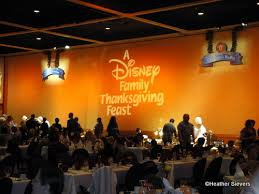 dining in disneyland disneyland hotel thanksgiving feast the