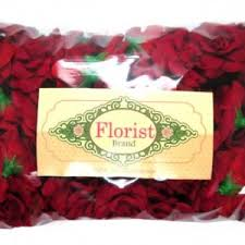Floral Supplies 100 Silk Red Roses Flower Head 1 75
