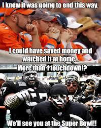 Broncos Losing Meme - 2016 broncos vs raiders memes vs best of the funny meme