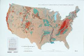 map us geological survey landslide overview map of the conterminous united states ngdc