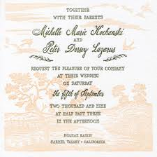 english wedding invitation wording wedding invitation sample