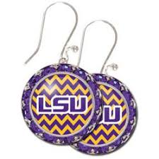 flirties earrings 34 best lsu jewelry images on lsu tigers louisiana