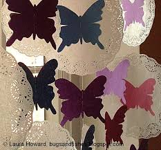 Butterfly Lace Curtains Diy Butterfly And Paper Lace Curtains Is It For Parties Is It
