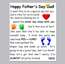 funniest s day cards fathers day card from toddler kids