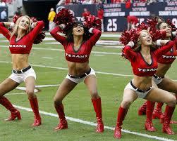 houston texans nfl american football cheerleaders american photo