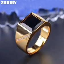 sterling gem rings images Men rings genuine natural sapphire gem man real 925 sterling jpg