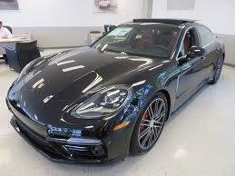 chrome porsche panamera 2018 new porsche panamera turbo executive awd at porsche monmouth