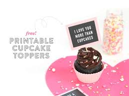 free printable cupcake toppers mini letterboards