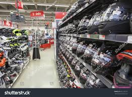 footwear for motorcycle lappeenranta finland circa feb 2017 racks stock photo 602129237