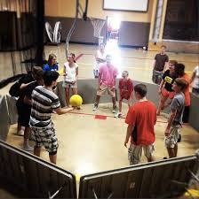 ga ga like dodgeball hit with at player s legs