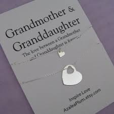 grandmother granddaughter necklace shop of the jewelry necklace on wanelo
