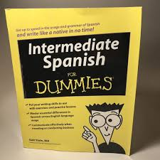 details about intermediate spanish for dummies by gail stein 2008