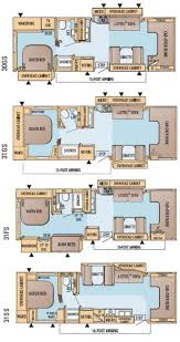 rv floor plans with bunks tags 40 imposing rv floor plans images