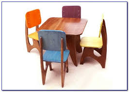 Childs Wooden Desk Childrens Wooden Table And Chairs Asda Chairs Home Design