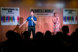 Barnes And Noble Norfolk Va Coverage Groundhog Day Celebrates Cast Recording Release With In