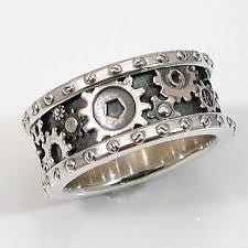 gear wedding ring steunk wedding band for him on etsy http www etsy listing