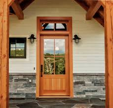 House Exterior Doors Timber Frame Exterior Doors New Energy Works
