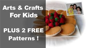 arts and crafts for kids felt food from the
