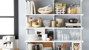 how to organize open kitchen cabinets 30 at the container store means it s time to organize