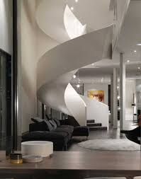 Black And White Modern Rug by Architecture Fascinating Spiral Staircase Plans For You White