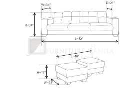 couch measurements sofa dimensions standard crafting pinterest