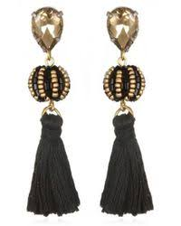 suzanna dai earrings lyst shop women s suzanna dai earrings from 192