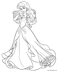 princess ariel human coloring pages coloring pages ideas